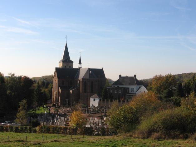 Schinnen kerk en kerkhof