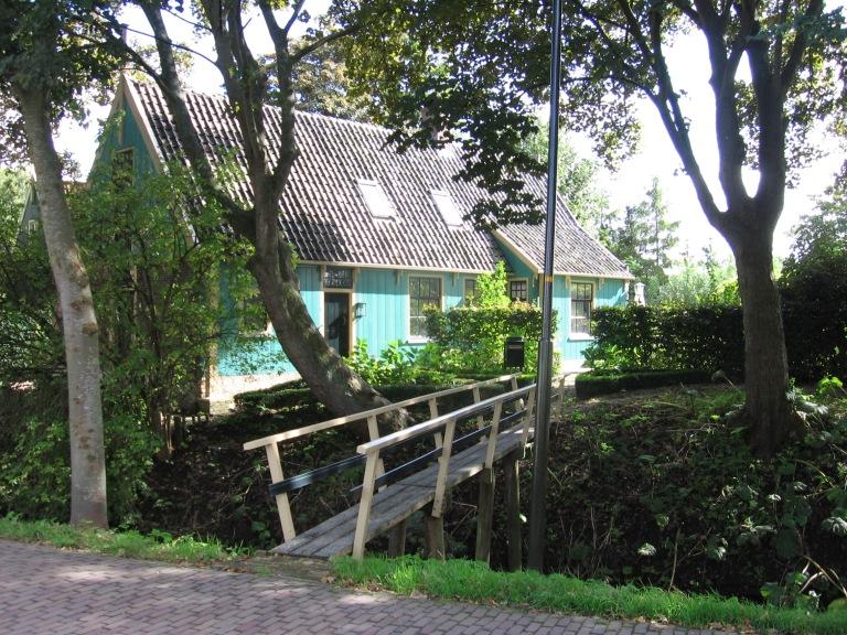 blauw huis Twisk