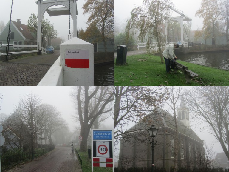 Trekvogelpad Broek-Schellingwouderbrug 8-11-2015